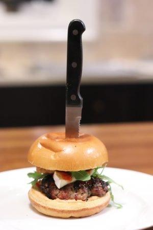 Papa Earth Lamb Burger